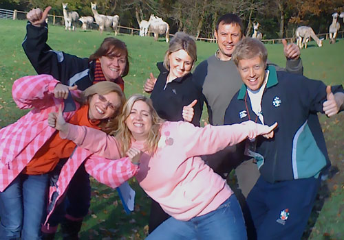 wyndham house dentists, llantwit major, team building